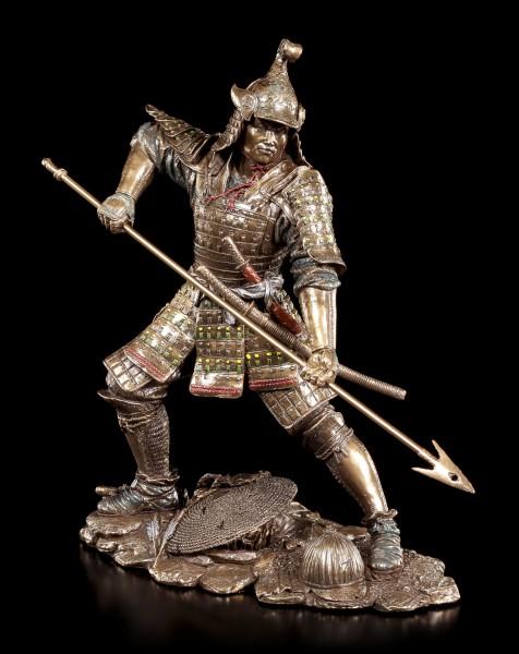 Samurai Figur mit Speer