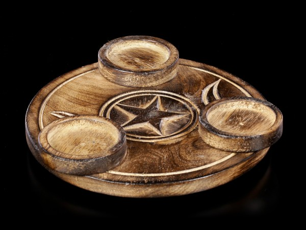 Tealight Holder - Triple Moon