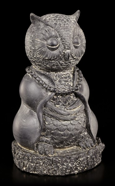 Buddha Figur - Meditierende Eule