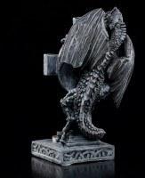 Tealight Holder - Dragon with Celtic Cross