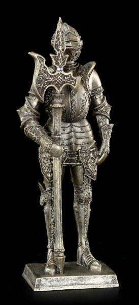 Knight Figurine with Halberd right