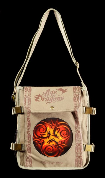 Side Bag with 3D Picture - Tribal Dragons by Anne Stokes