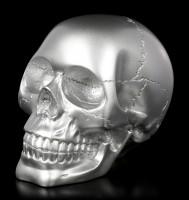 Skull - silver-colored