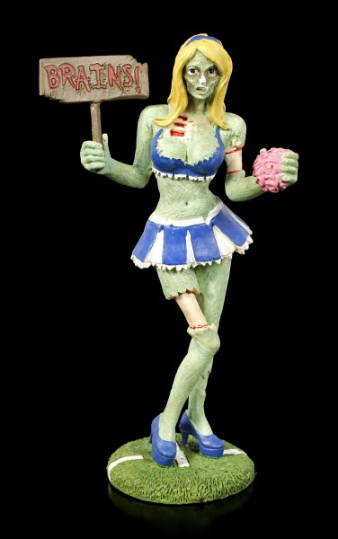 Zombie Figurine - Cheerleader