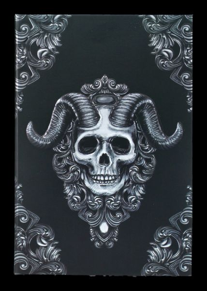 Notizbuch - Dämonen Schädel