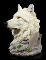 Wolf Head Bottle Holder - Snow Guide