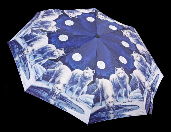 Umbrella with Wolves - Warriors of Winter