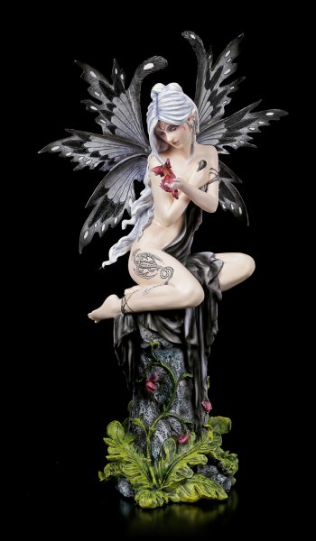 Large Fairy Figurine - Smoky