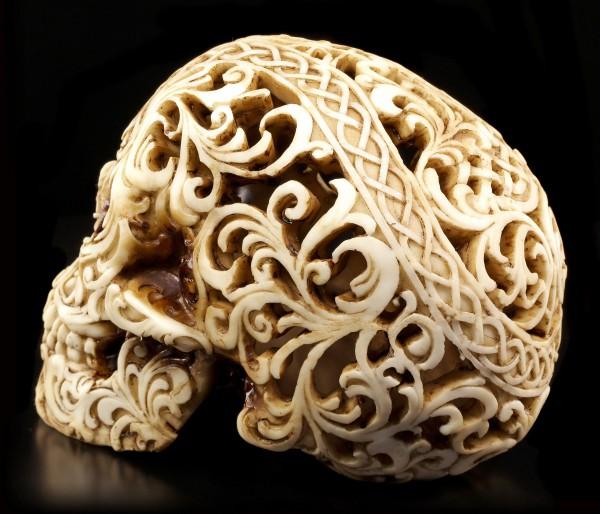 Relief Skull - Celtic Decadence