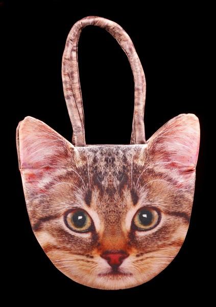 Tier Motiv Tasche - Katze