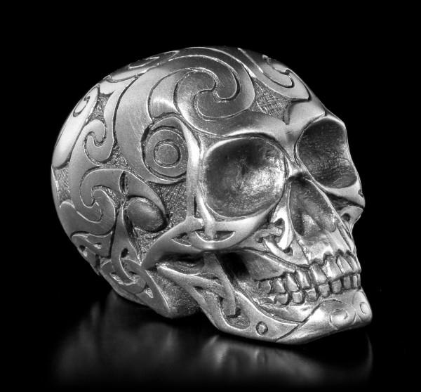 Celtic Skull Gunmetal mini