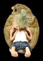 Pixie Kobold Figur - Spatz Kuscheln