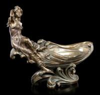 Nymphs Bowl - bronzed