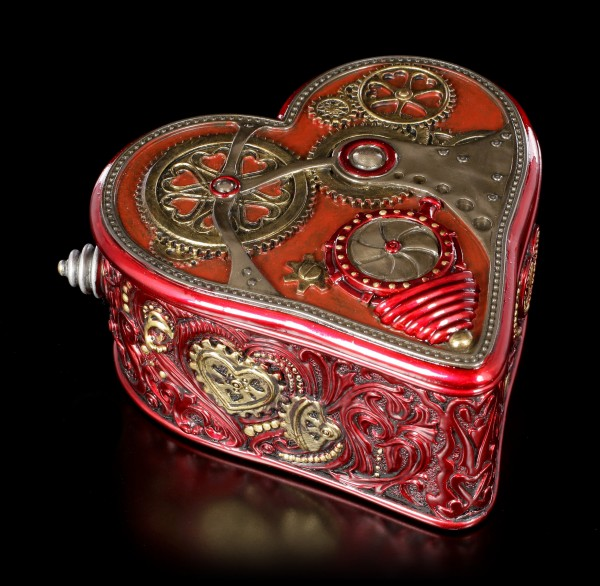 Steampunk Schatulle - Heart by Myles Pinkney