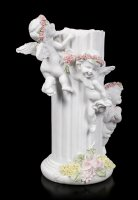 Angel Tealight Holder - Three little Cherubs