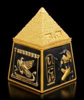 Ägyptische Schatulle mit Pyramide