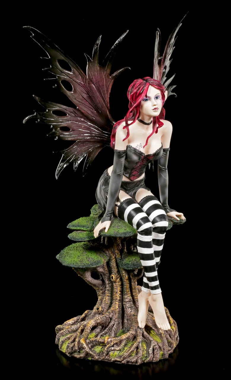 Elfen Figur groß - Aena auf Yggdrasil