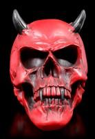 Teufel Totenkopf - Crimson Demon Skull
