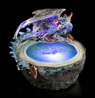 Drachen Orakel Figur mit LED