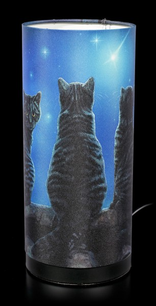 Table Lamp with Cats - Wish Upon a Star