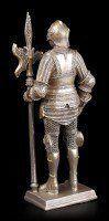 Ritter Figur mit Hellebarde links