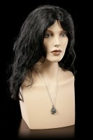 Alchemy Skull Necklace - The Black Pearl of Plage Noir