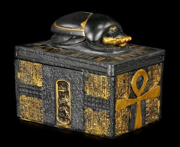 Ägyptische Schatulle - Scarabäus