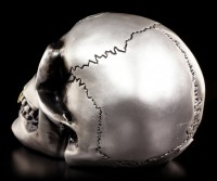 Alchemy Totenkopf - Metallfarbener Alchemist