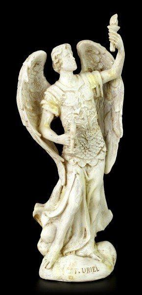 Small Archangel Figurine - Uriel - White