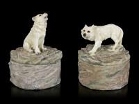 Wolf Box Set - Loyal Guards - Set of 2