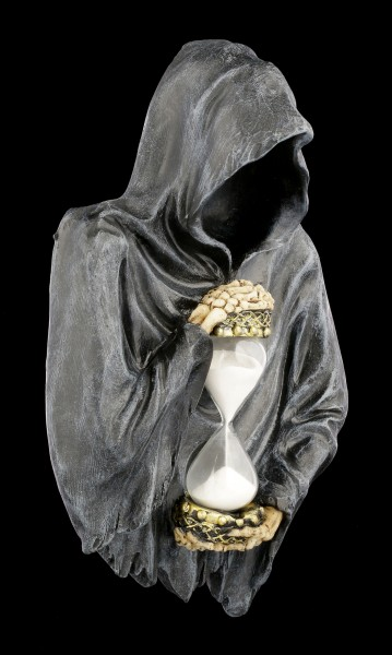 Reaper Wall Plaque with Hourglass - Sands of Time