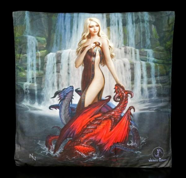 Cushion - Dragon Bathers