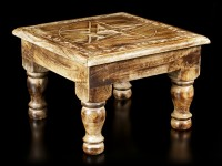 Altar Table with Border - Pentagram