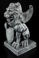 Lion Gargoyle with Shield