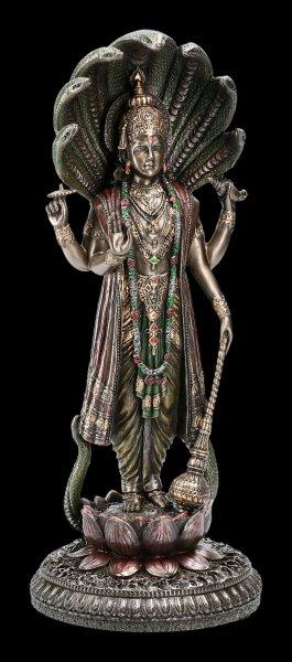 Vishnu Figurine with Serpent Shesha