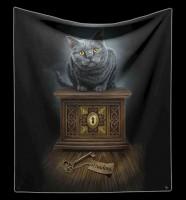 Fluffy Blanket Cat - Pandora's Box by Lisa Parker