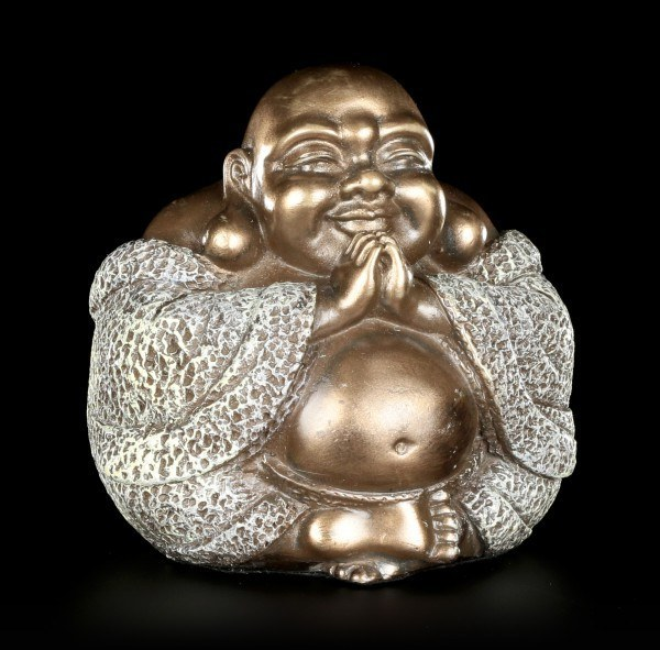 Happy Buddha Figurine - Inner Peace and Concentration