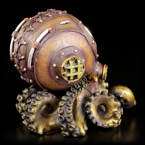 Steampunk Tischuhr Krake - Clocktopus