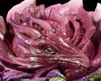Drachen Figur - Rose Dragon