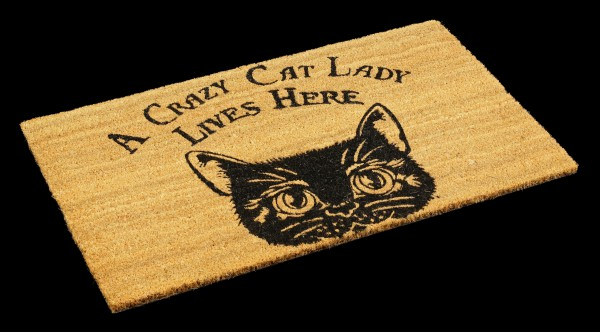 Fantasy Doormat - Crazy Cat Lady