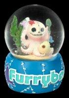 Furrybones Schneekugel - Octopee