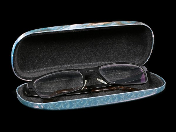 Glasses Case with Wolf - Quiet Reflection