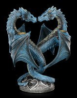 Kerzenhalter Drachen Herz - Dragon Heart by Anne Stokes