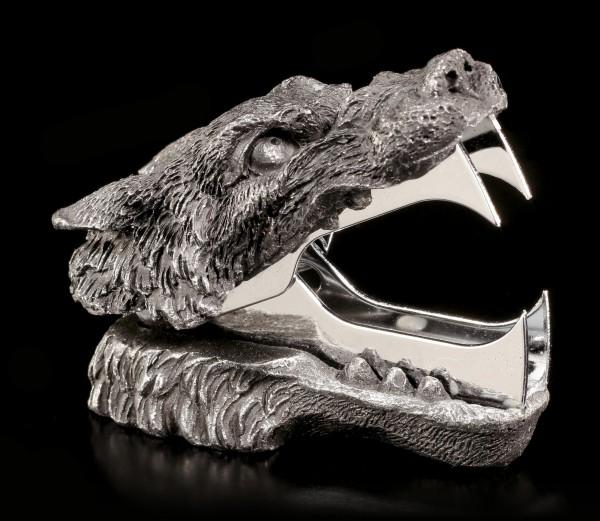 Heftklammerentferner - Schwarzer Wolf