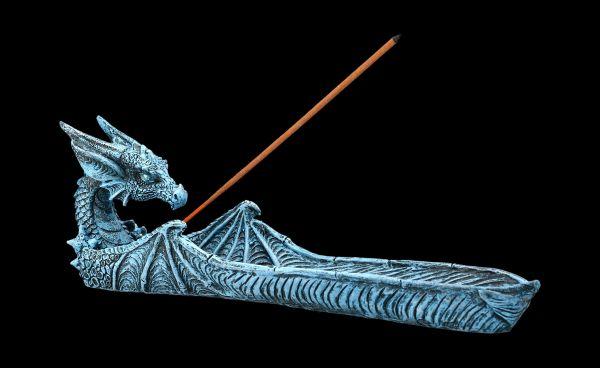 Incense Burner - Ice Dragon