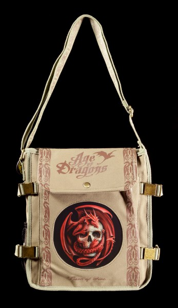 Side Bag with 3D Picture - Dragon and Skull