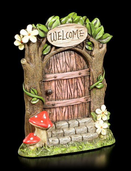 Fairy Door - Welcome