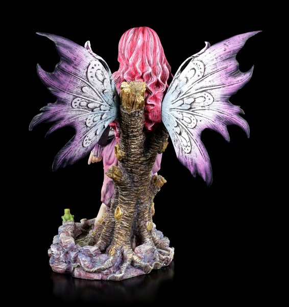 Fairy Figurine - Paola with white Tiger Baby