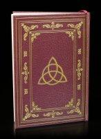 Hardcover Notizbuch mit Wiccasymbol