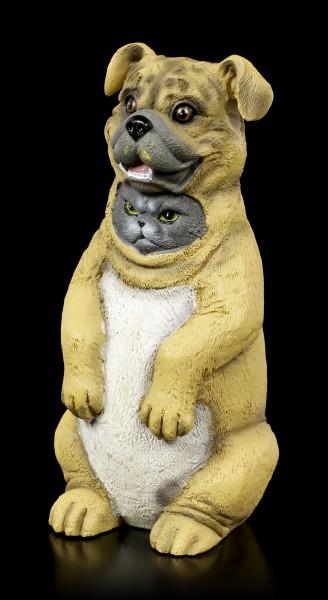 Dupers Figur - Katze im Hundekostüm